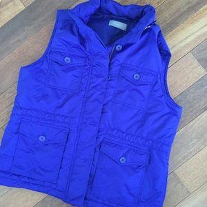 Liz Claiborne puffer vest